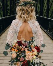 boho bride on walkway.jpg