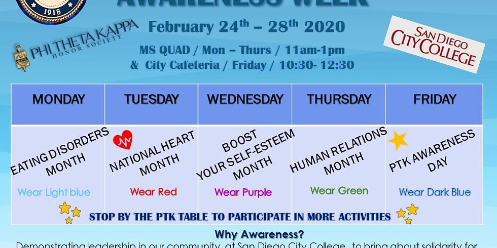 PTK Awareness Week