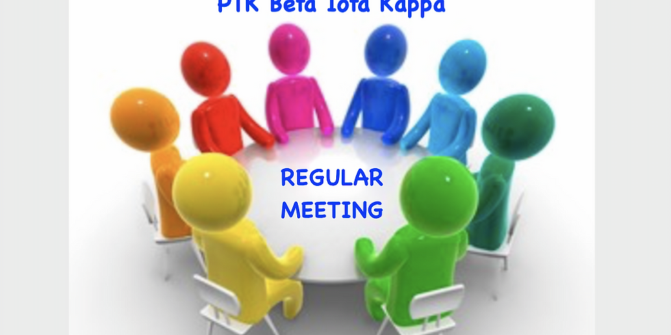 PTK REGULAR MEETING