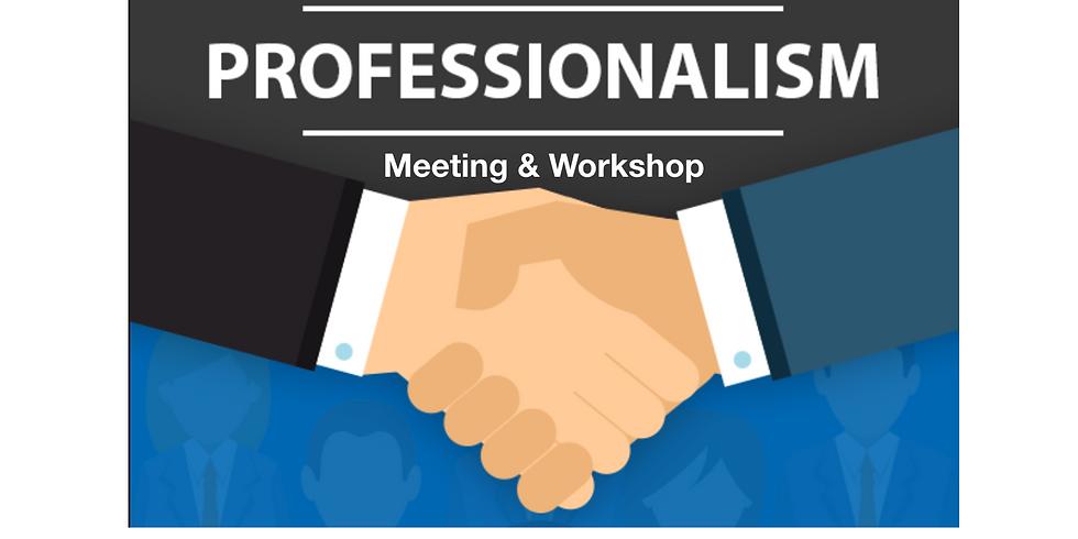 Meeting & Professionalism Workshop