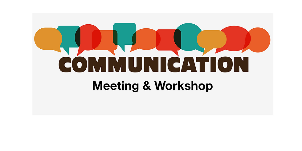 Meeting & Communication Workshop
