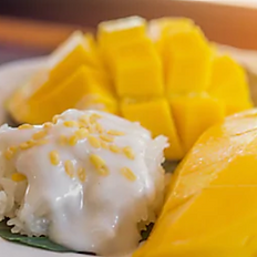 Mango sticky rice(seasonal)