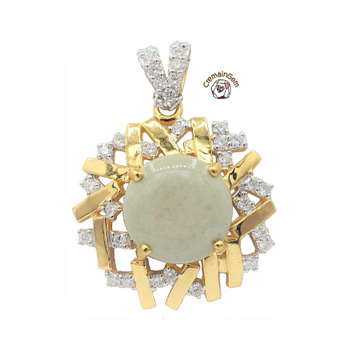 Love Web CremainGem Pendant