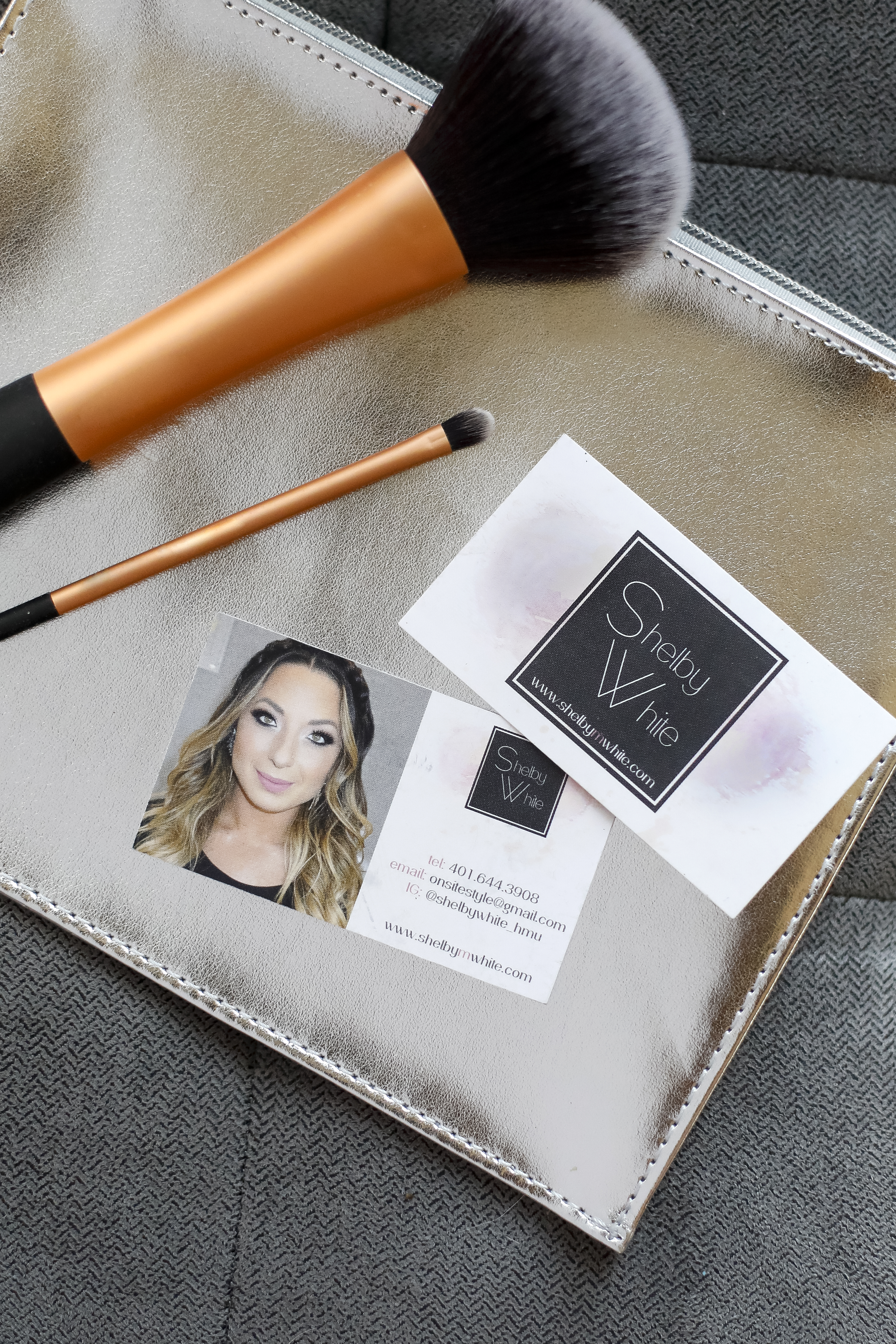 Shelby White Business Cards
