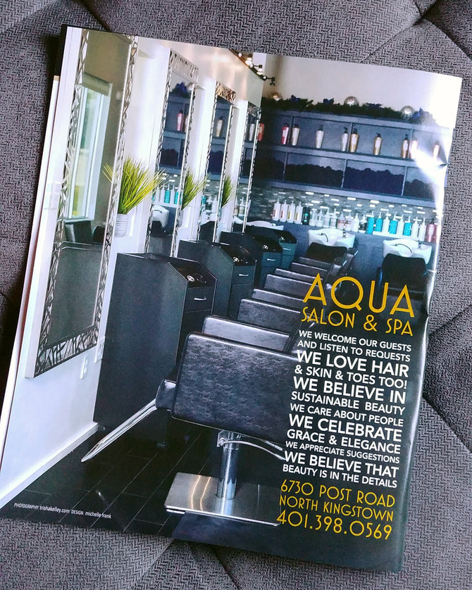 Aqua Spa Tear Sheet