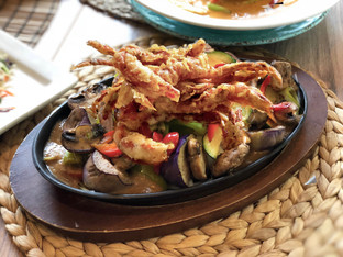 Soft Shell Crab Black Pepper