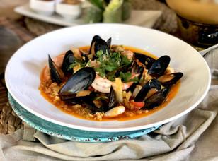 Seafood Pad Pong Karee