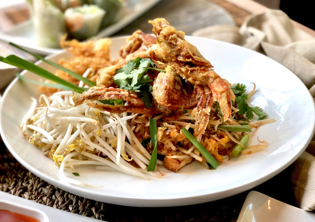 Soft Shell Crab Pad Thai