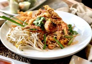 Soft Shell Crab Pad Thai