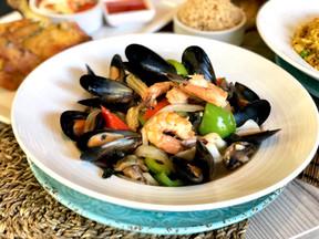 Hot Basil Seafood