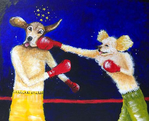 Knockout 8 x 10 Print