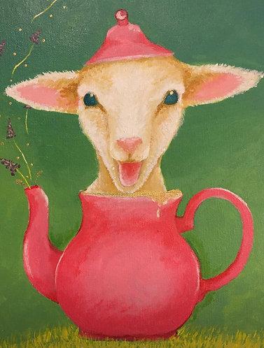 Teapot Tina! 8 x10 print