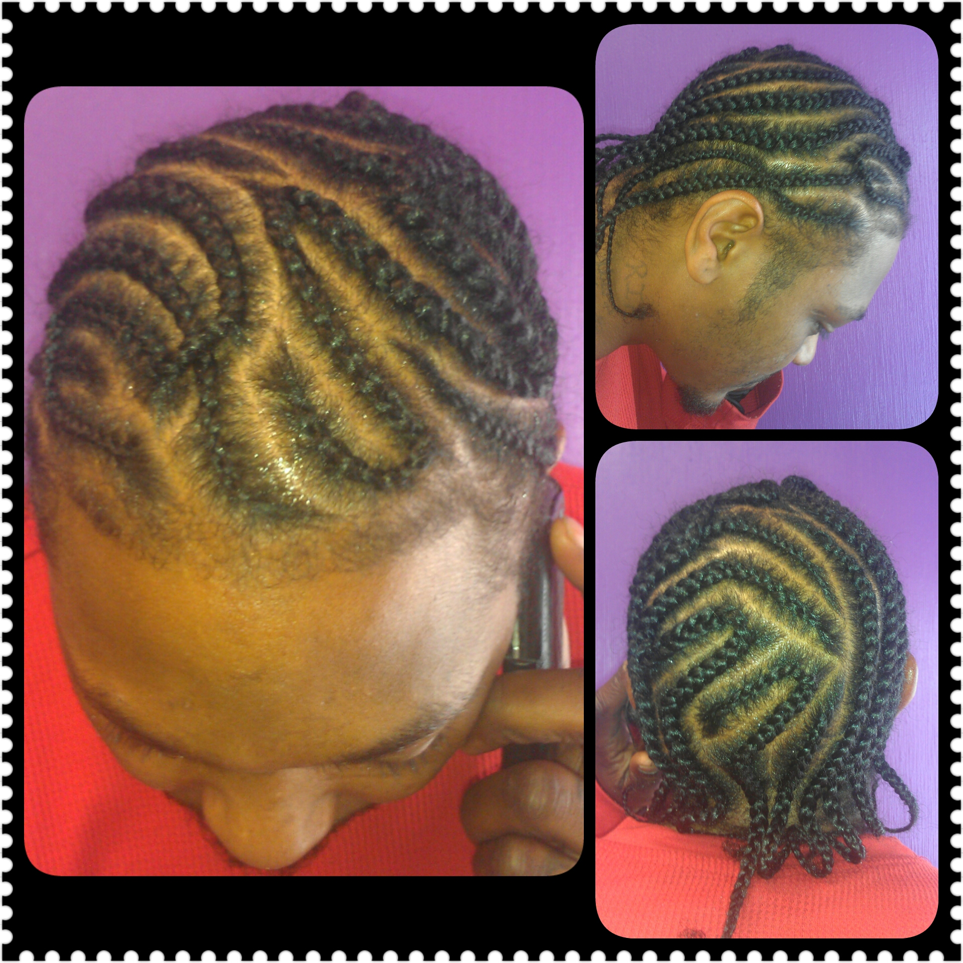 Cornrow Free style