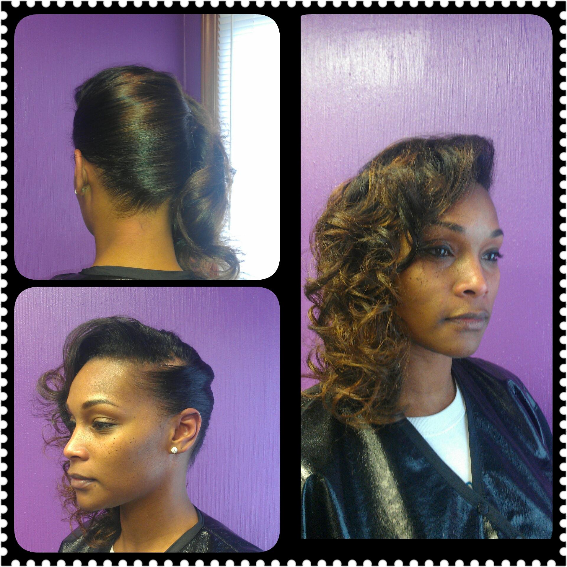 Curls w/ Pin up