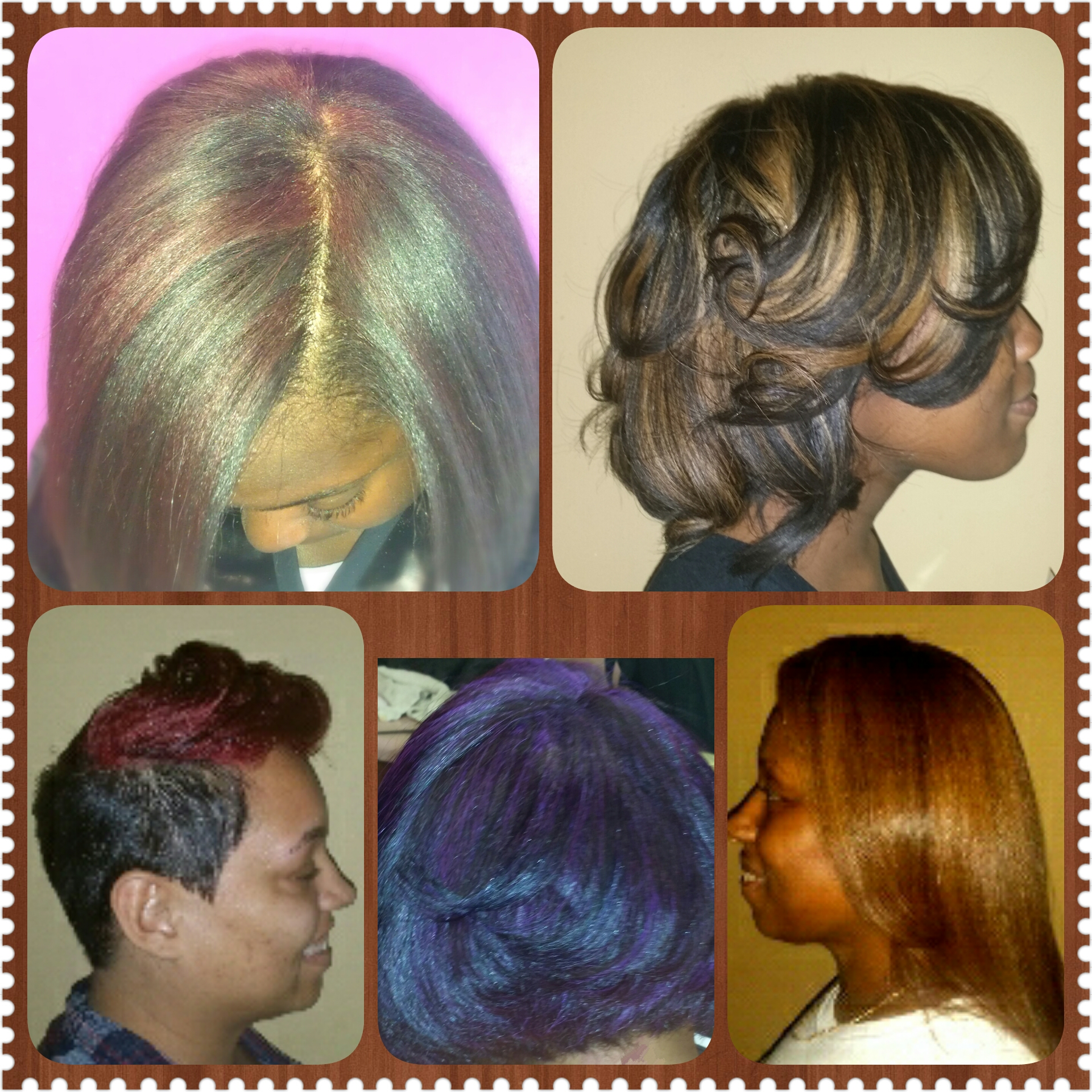 HIGHLIGHTS, HALO, RED, PURPLE, GOLD