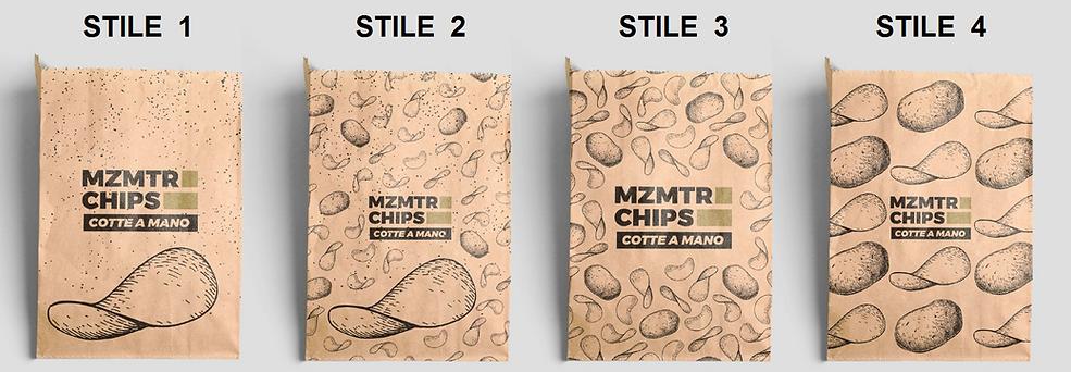 FORMATI CHIPS SONDAGGIO MZMTR PIZZA IN P