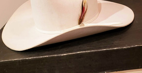 A White Bailey Hat