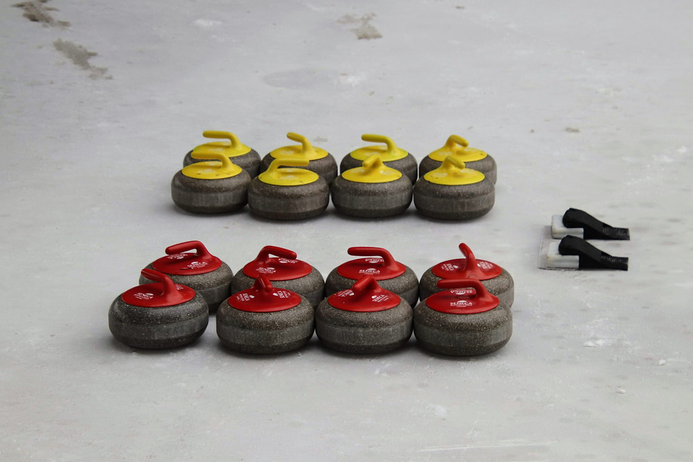 Curling at Canalside Buffalo