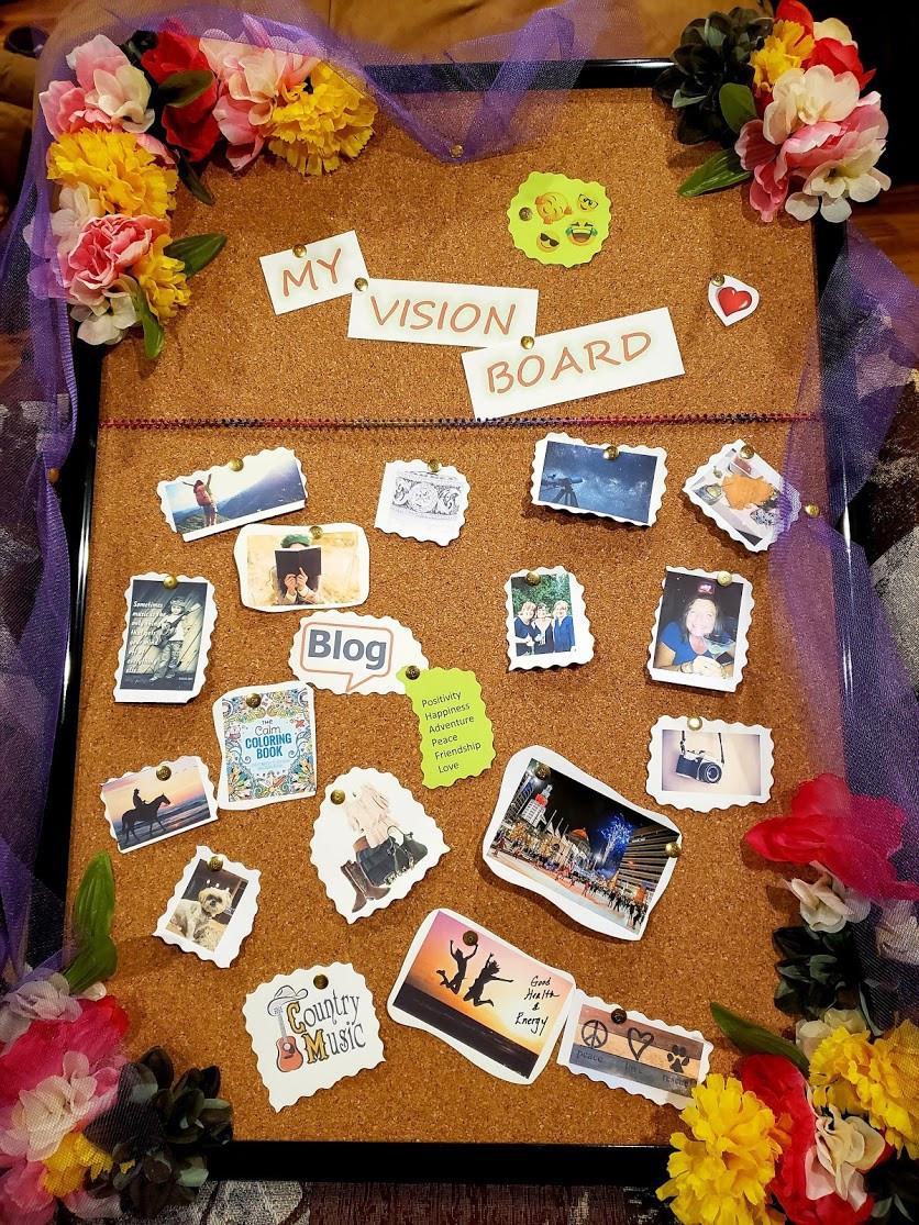 Dreams on a Vision Board