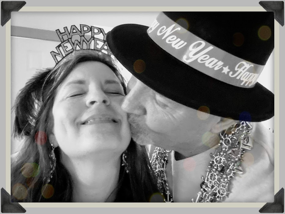 A Kiss at Midnight on New Years Eve