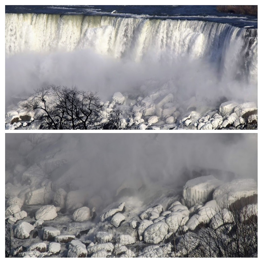 American Falls Ice and Mist
