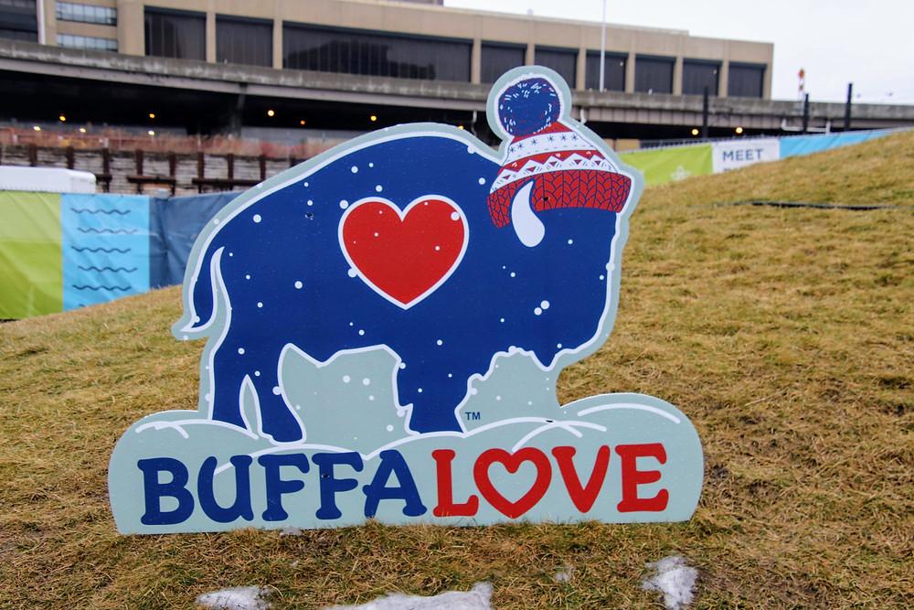 Buffalove Sign