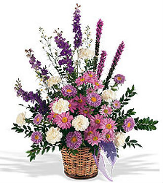 Lavender Reminder Basket (SBFS29)