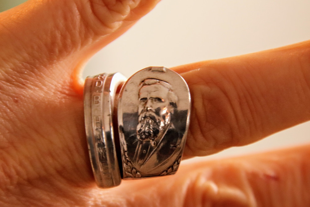 My Rutherford B Hayes Ring