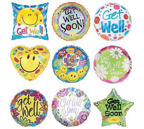 Get Well Mylar (1 Balloon)