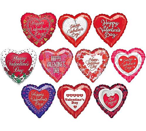 Valentine Foil Mylars