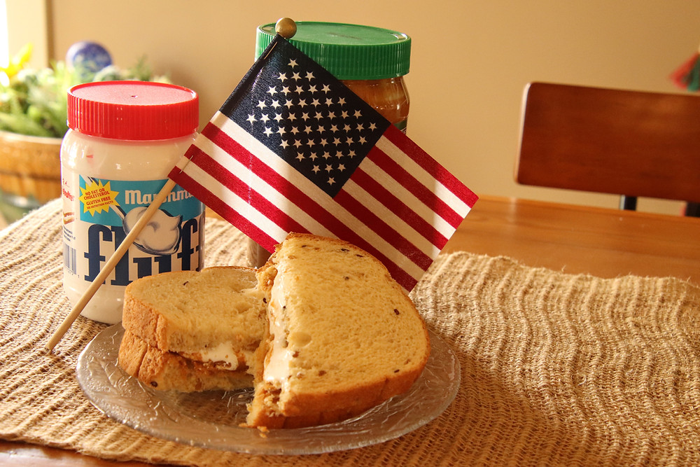 Peanut Butter, Fluff and a Flag