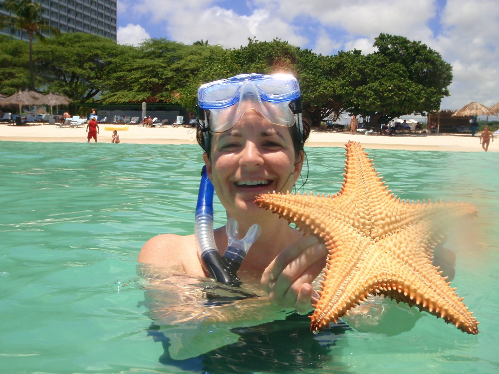 Caution..Do not do this to a Starfish.