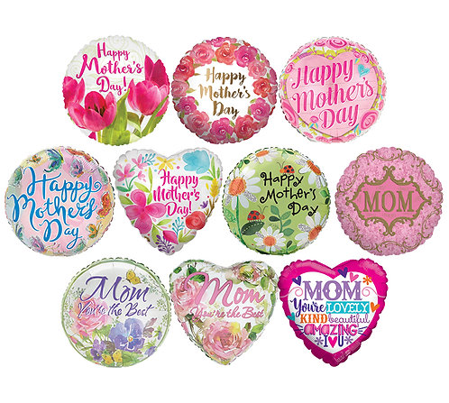 Mother's Day Foil Mylar Balloon (1Balloon)