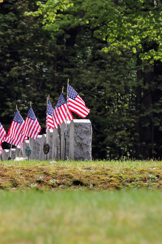 Memorials In A Row