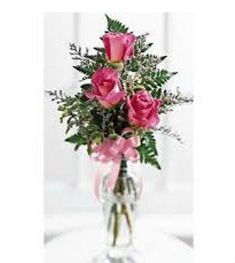 Triple Delight Rose Bouquet (BFS53)