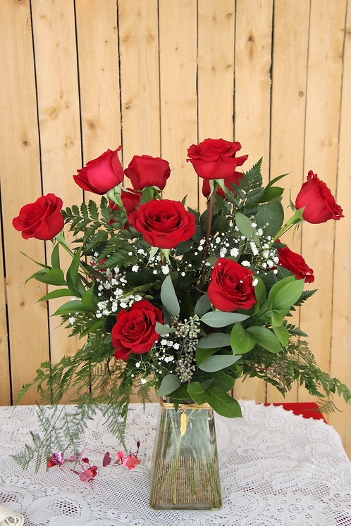 Tickle Their Heart Enchanted Feather Rose Bouquet (VD2195)