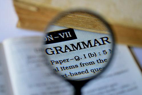 Grammar & Handwriting