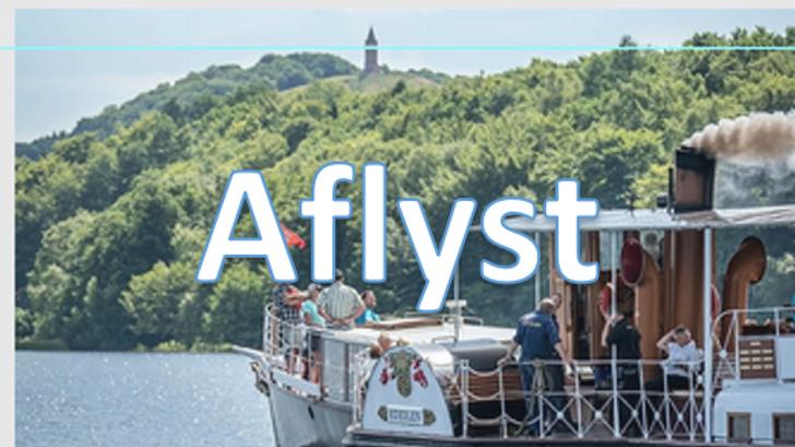 2021 - Klub 805 - Forårstur Sejltur med Hjejlen fra Silkeborg er aflyst