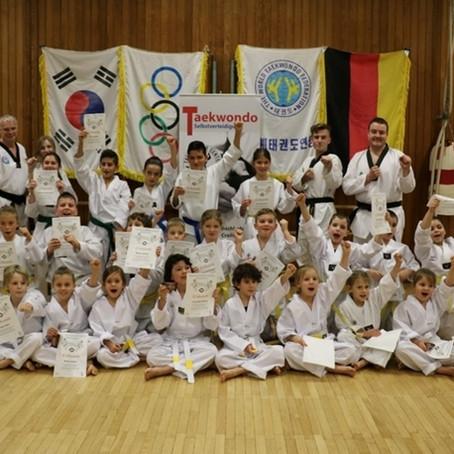 Die Taekwondo Schule des SV Ingersheim trainiert wieder !