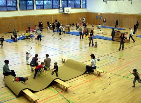 Eltern-Kind-Turnen startet nach den Sommerferien wieder !