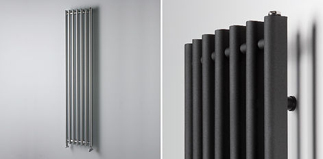 Heatwave heating and plumbing fit brand new modern radiators fitted by a central heating engineer