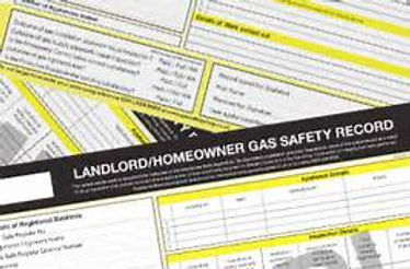 Landlord home owner gas safety record check carried out by Heatwave heating and plumbing
