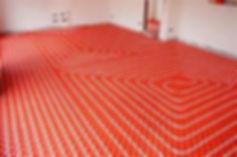 Heatwave heating and plumbing fitting underfloor heating