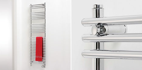 Heatwave heating and plumbing fit brand new heated towel rails