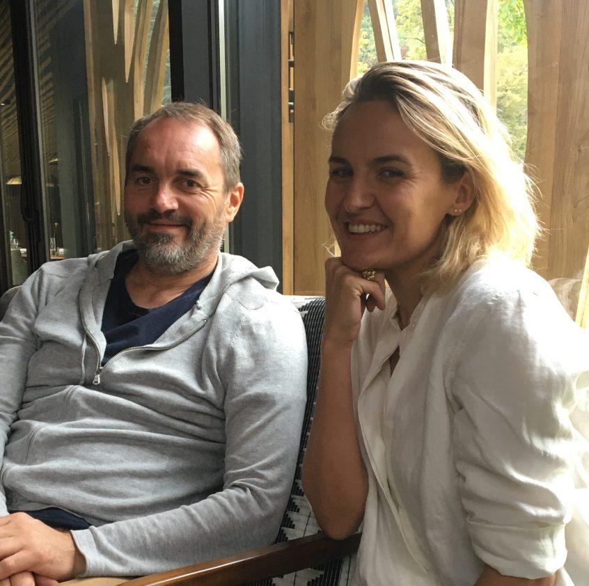 Laetitia Debeausse et Christophe Aribert