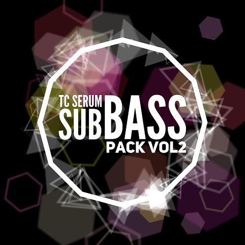 25 TC Serum Sub Bass Pack Vol2