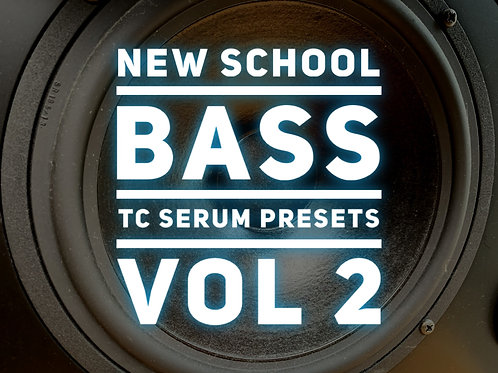 30 New School TC Serum Bass Presets Vol 2