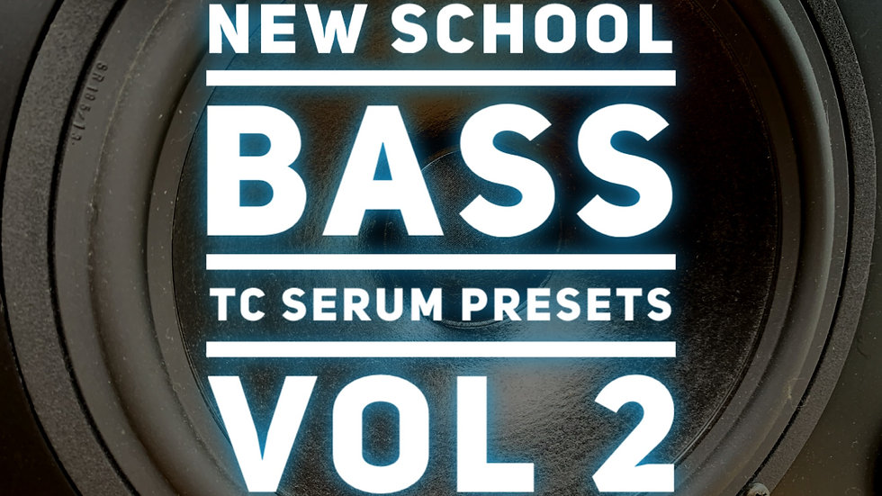 30 New School TC Serum Bass Presets Vol 2