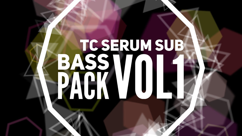 25 TC Serum Sub Bass Pack Vol1