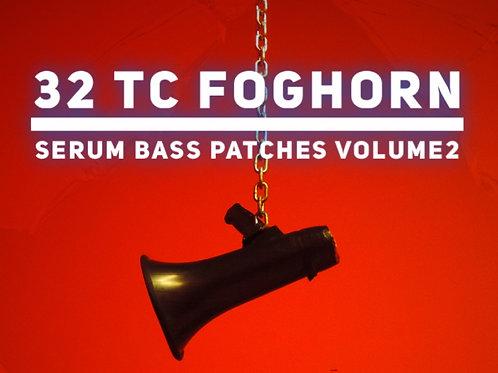 32 TC Serum Foghorn Bass Presets Volume 2